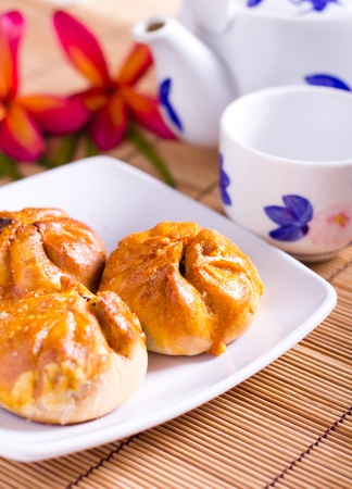 Famous Malaysian food - Seremban Siew pau. It
