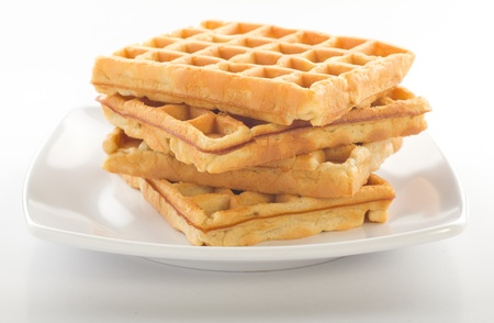 waffles: gofres Foto de archivo
