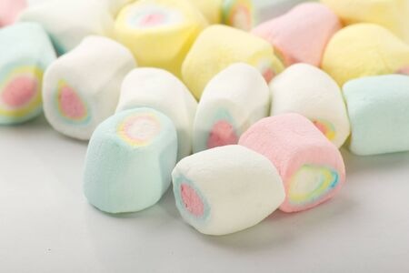 sweet stuff: Marshmallows  Stock Photo