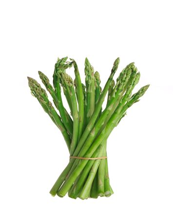 asparagus on a white background  photo