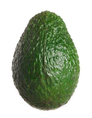 Avocado isoliert auf weißem Hintergrund Standard-Bild - 12820835