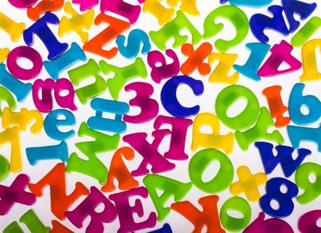 numeracy: Alphabet letters