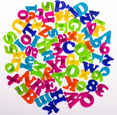 Alphabet letters Stock Photo - 13185288