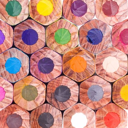 Color pencils  Texture or background photo