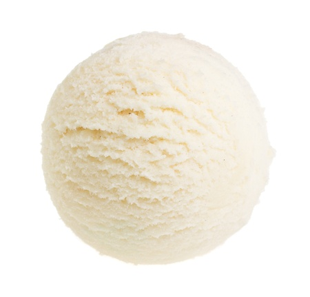 Eis isoliert auf weißem Hintergrund Standard-Bild - 14212927