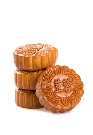 Chinese Mooncake 免版税图像
