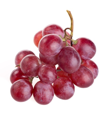 red grape isolated on white Stock Photo - 15041200