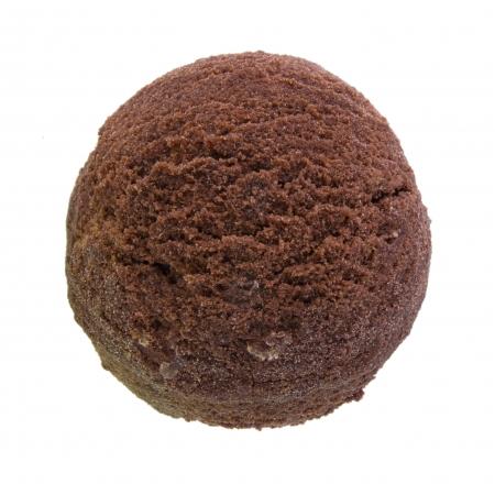 glace: ice cream isolated on white background Stock Photo