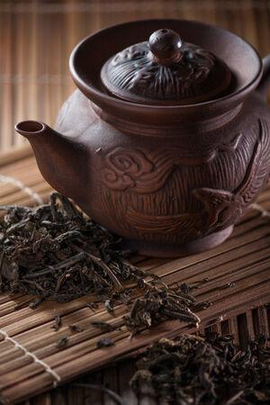 Asian chinese tea set photo