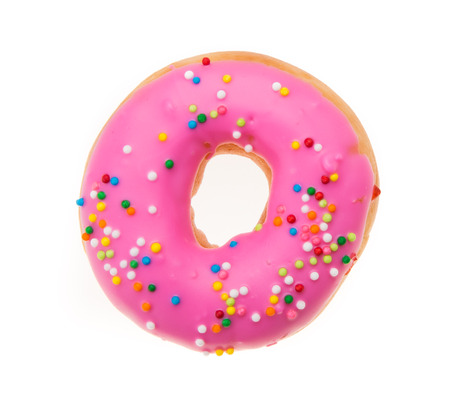 Doughnuts isolated on white background Standard-Bild