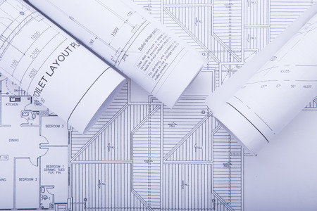 structural engineers: Architect rolls and plans.architectural plan,project drawing