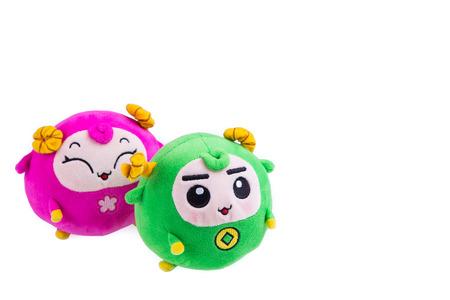 soft toys: Soft toys isolated on white background