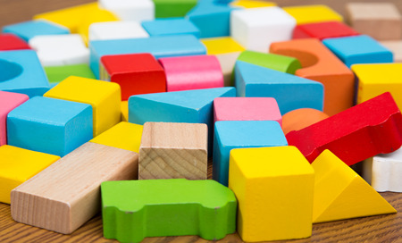 toy block: Sorted wooden toy Block Background