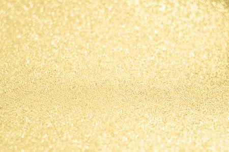 shiny gold: Glittery shiny lights gold abstract bokeh background