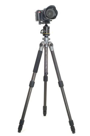 tripod: Tripod camera isolated on white