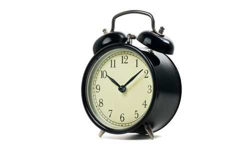 Alarm clock isolated on a white Stock Photo - 4956984