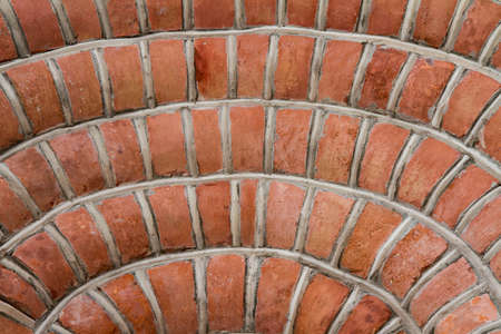 Brick wall in close up Banque d'images