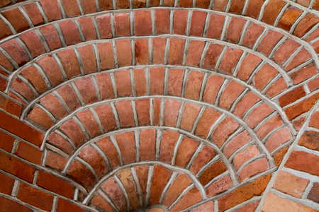 Background: Brick wall in close up