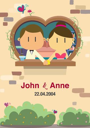 Invitation wedding background