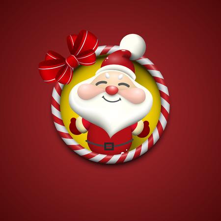 Santa Claus background design