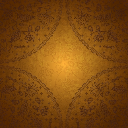 gold background for text Vector