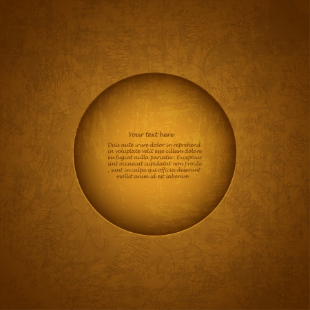 old gold background for your message Vector
