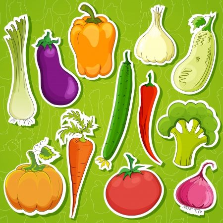 food   background illustration . Vector