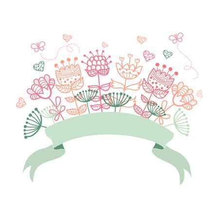 Wedding graphic set, wreath, flowers, arrows, hearts Stock Vector - 25156996