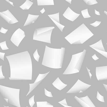 A Background with flight paper, illustration of clear chaotic paper.
