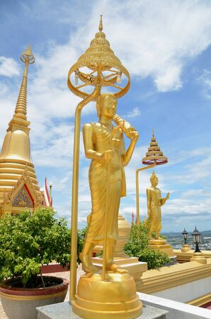 Sivalee standbeeld, de monnik die beroemd was in geluk