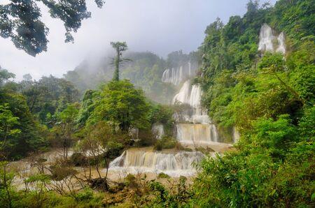 Thi Lo Su, de grootste Thailand waterval Lanscape