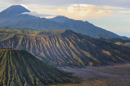 Bromo, Indonesië Stockfoto