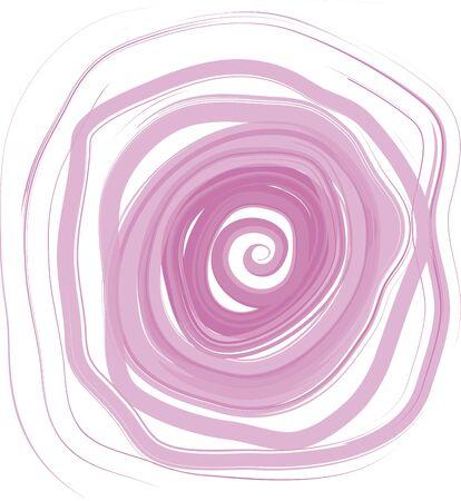 flor: fondo rosa en forma de espiral