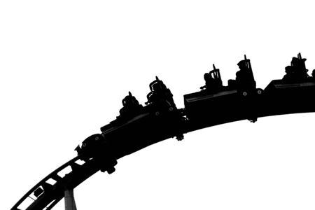 rollercoaster shadow