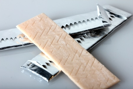 chewing gums Standard-Bild