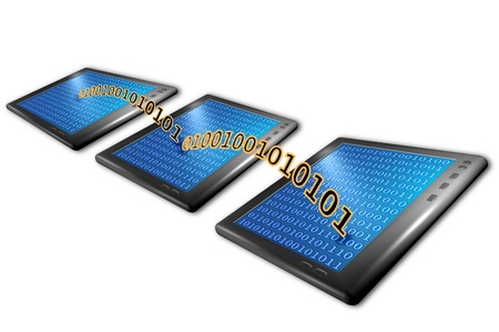 tablet computers with wireless connections Stock Photo - 11753589