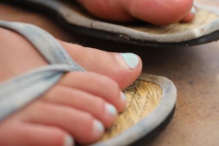 flip flop: flip flops Stock Photo