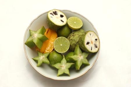 chirimoya: exotic fruits bowel