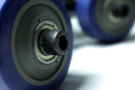 video dolly wheels Stock Photo - 13488690