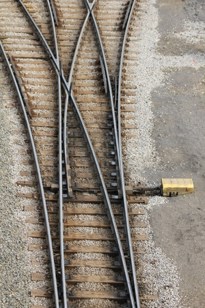 railway switch photo