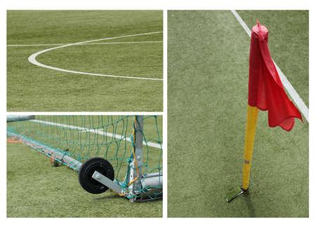 football goal collage photo