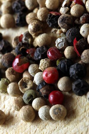 colored peppercorns photo