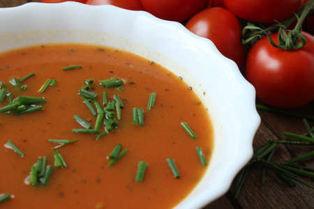 tomato soup Stock Photo - 13805612