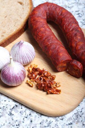 chorizo: chorizo Stock Photo