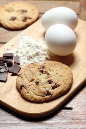 chocolate chip cookie: chocolate chip cookie baking