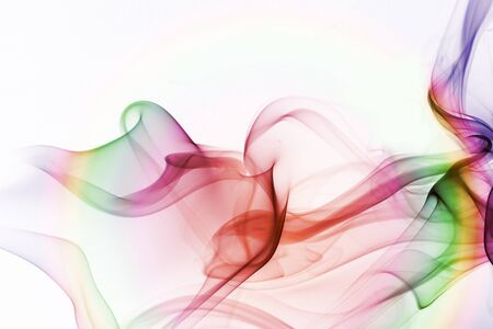 lila: abstract colored smoke background Stock Photo