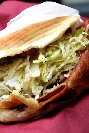 doner sandwich photo