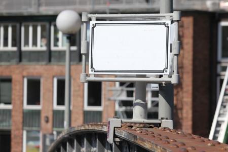 textfield: plain textfield on an old steelbridge