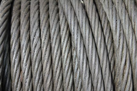 steel rope texture photo