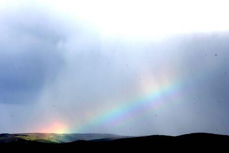 a rainbow photo